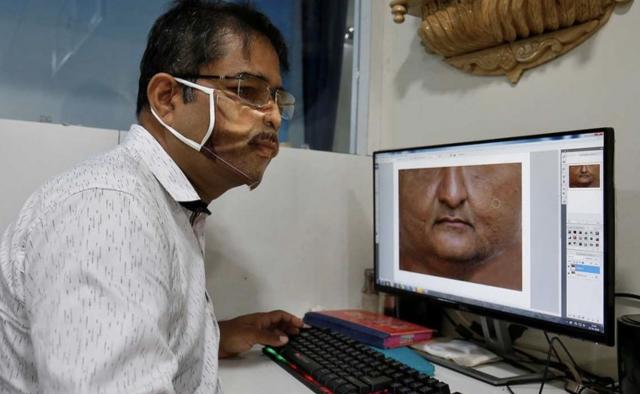 Las curiosas 'máscaras invisibles' vendidas en India - ¡Qué! 2