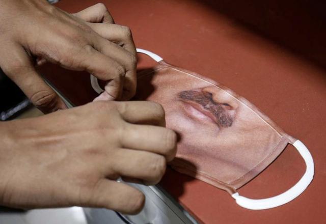 Las curiosas 'máscaras invisibles' vendidas en India - ¡Qué! 3