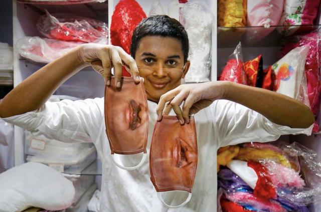 Las curiosas 'máscaras invisibles' vendidas en India - ¡Qué! 4