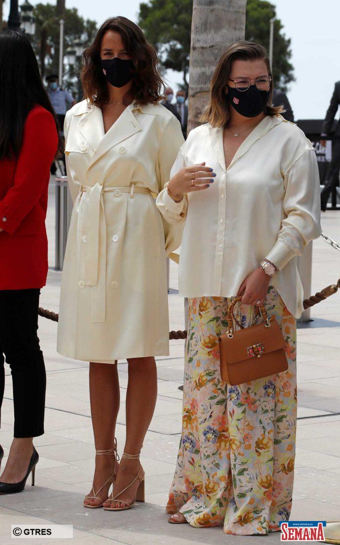 La familia real de Mónaco (con ausencias notables) reaparece altamente protegida en su regreso a la vida pública 20