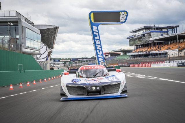 Michelin y Symbio están desarrollando la batería de hidrógeno en la competencia automotriz, como laboratorio de pruebas. ¡Qué! 1