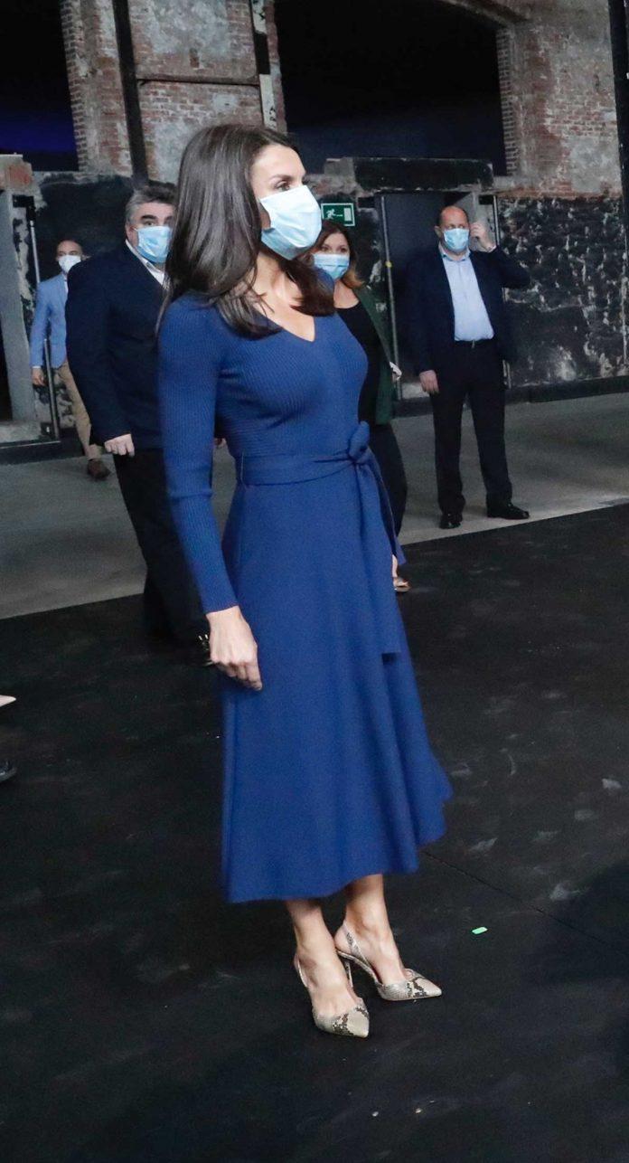 La reina Letizia estrena un vestido de punto sugerente (y barato) 2