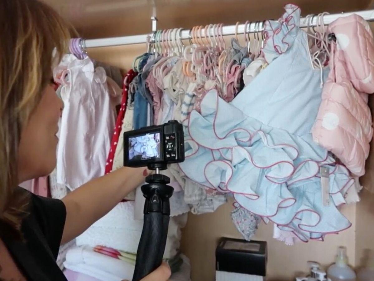 Toñi Moreno muestra el vestuario de su hija Lola a su regreso a Mtmad 2