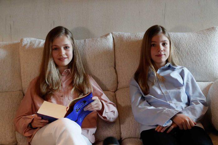 La princesa Leonor, enamorada de un hombre rico de su escuela, según la prensa argentina. 14