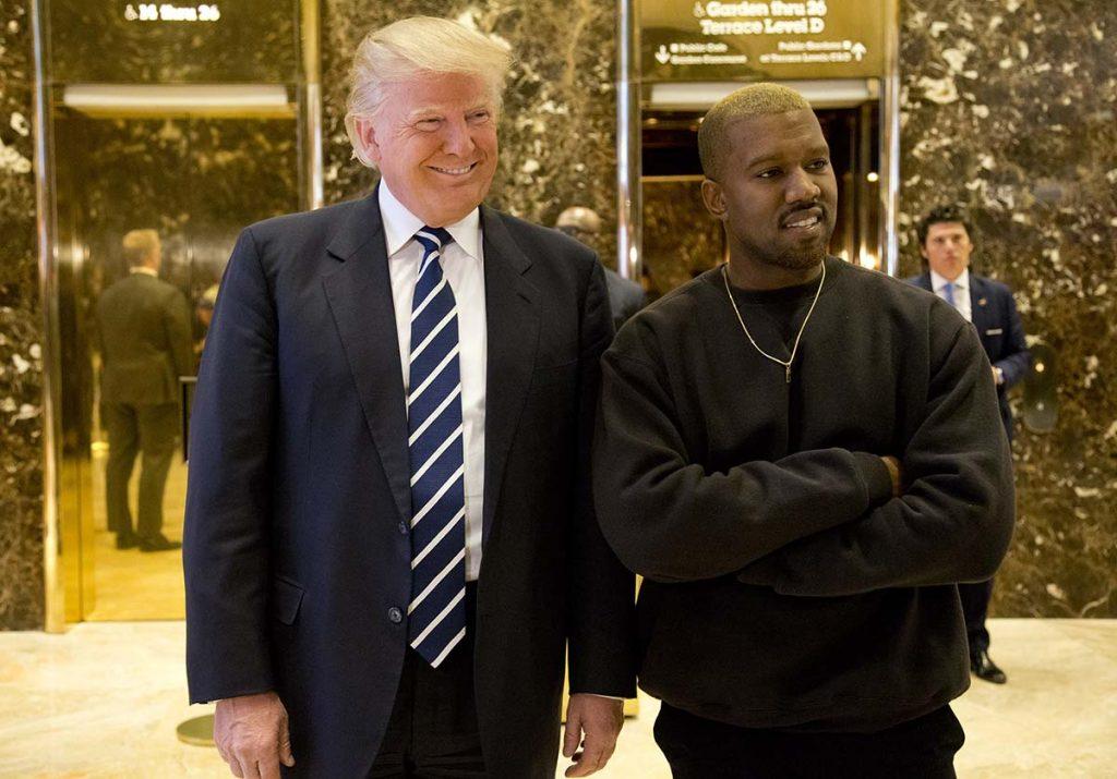 Kim Kardashian, primera dama? Kanye West, candidato a presidente de los Estados Unidos 1