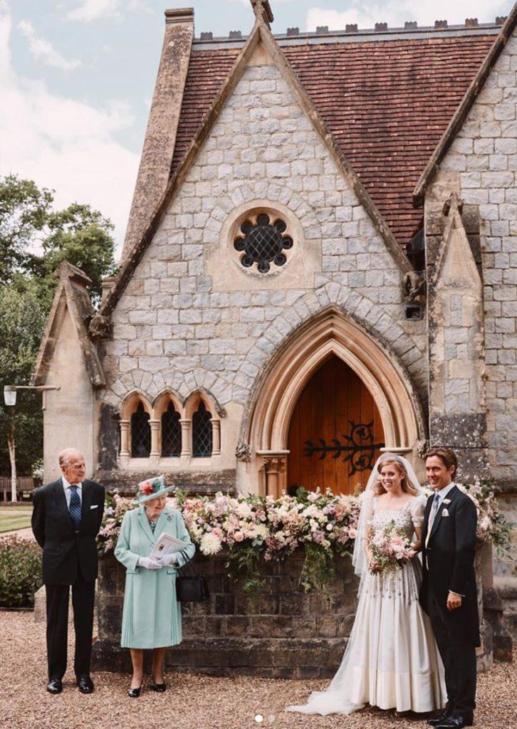 Los primeros pasos de Beatriz de York y Edoardo Mapelli como esposo y esposa 2