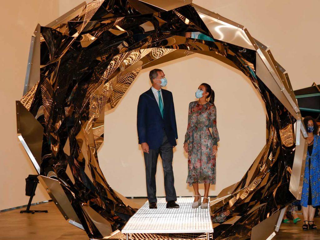 Los reyes Felipe y Letizia disfrutan de una noche de cine en Madrid 3