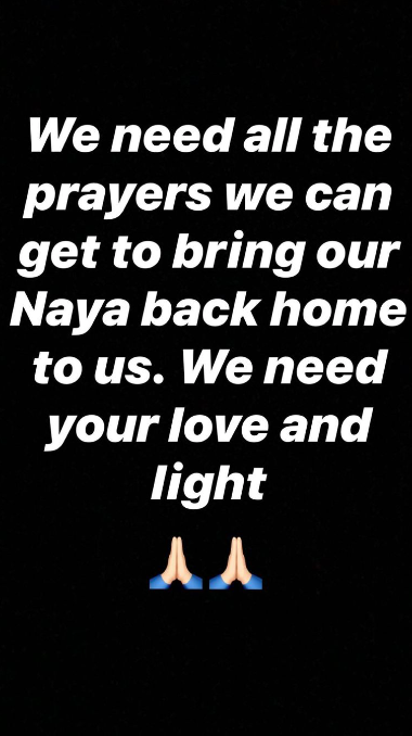 Demi Lovato pide a los fanáticos que recen por Naya Rivera, luego de ser reportada como desaparecida  1