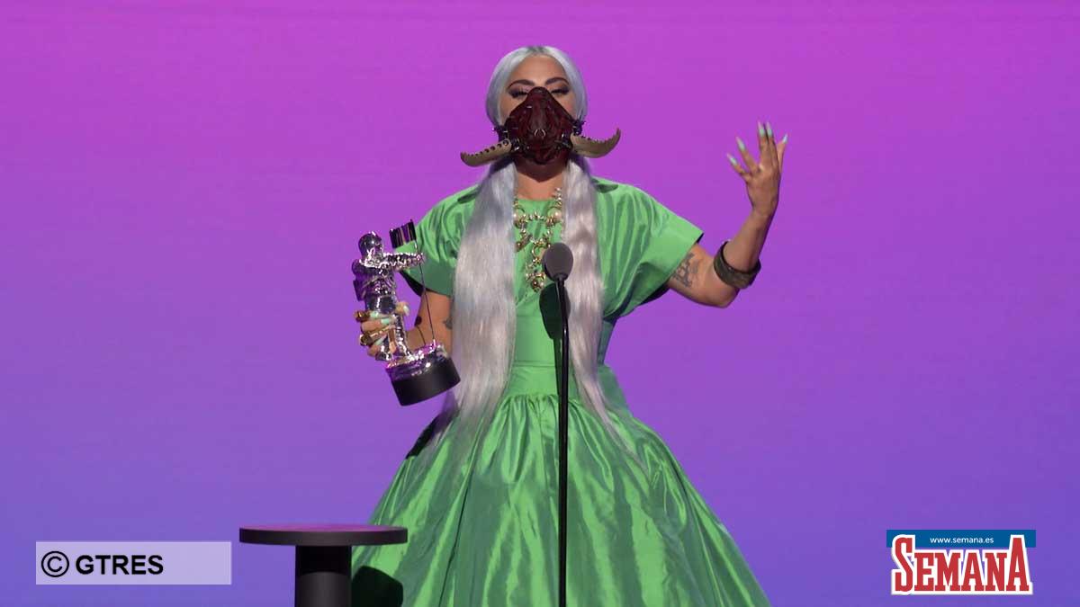 Las máscaras de Lady Gaga: los verdaderos ganadores de los MTV Video Music Awards 2