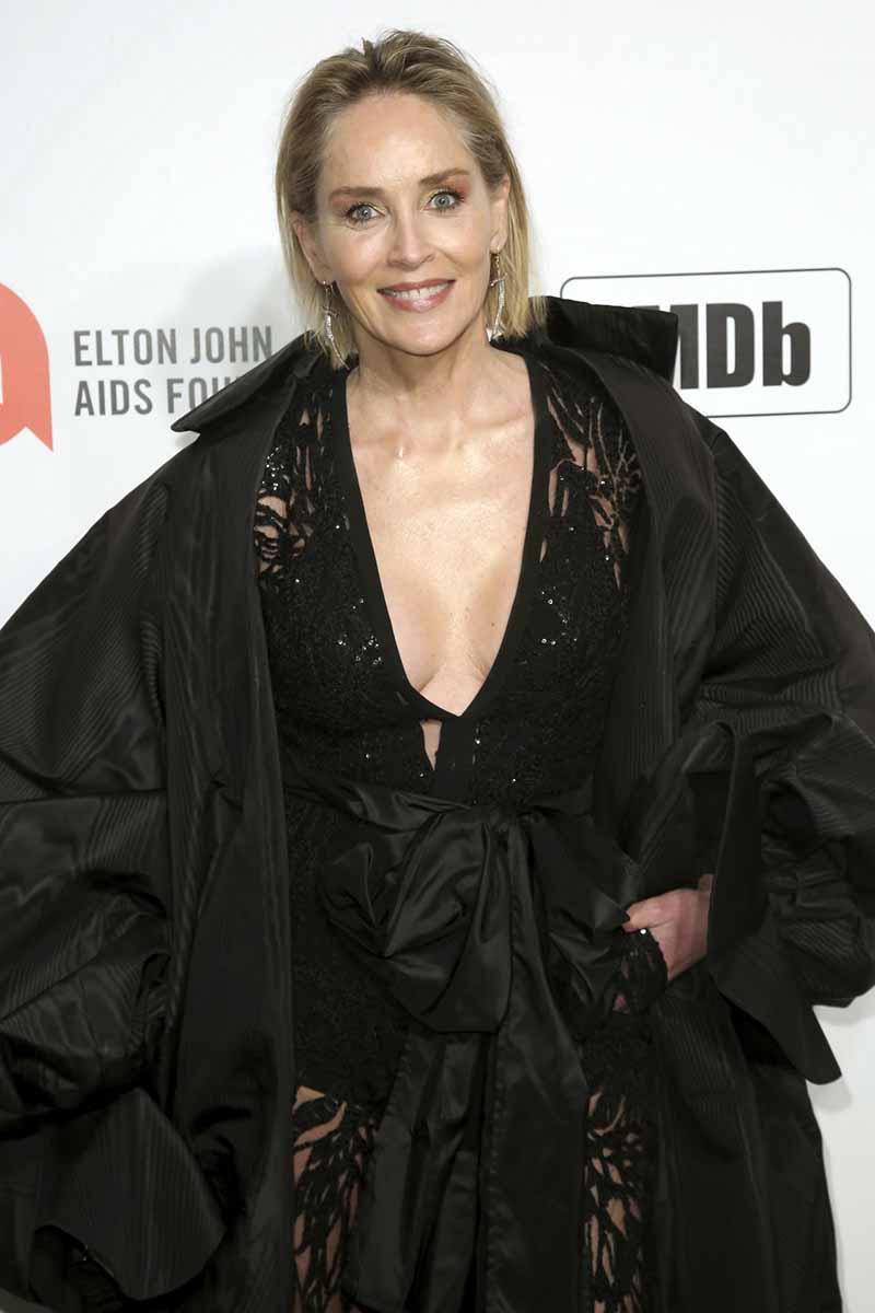 """Sharon Stone acusa a Donald Trump: """"No vote por un asesino"""" 1"""
