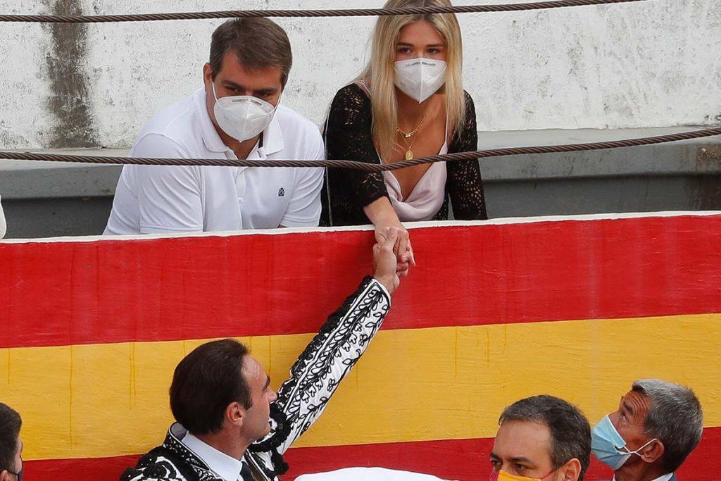 Ana Soria aclara su inesperada salida de la corrida de Enrique Ponce 2