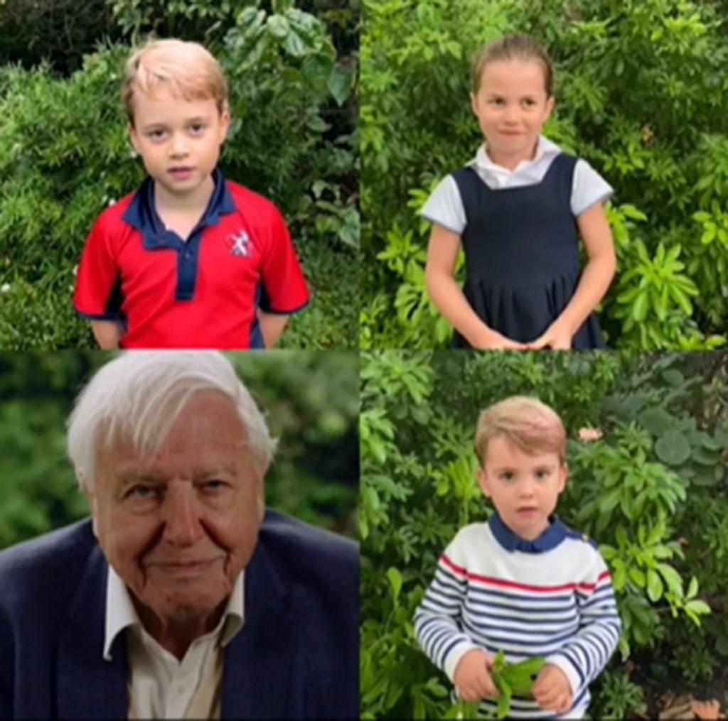 George, Charlotte y Louis de Cambridge hablan en público: ¡sus voces son adorables! 2