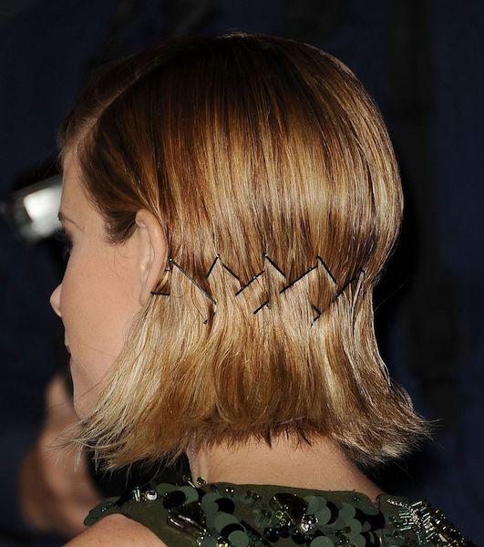 Peinados de Criss Cross para cabello corto