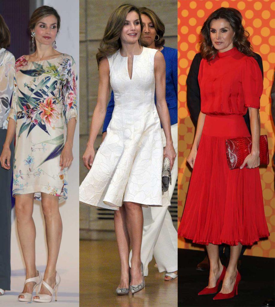 Reina Letizia, ideal (y peligrosamente transparente) en los National Fashion Awards 2