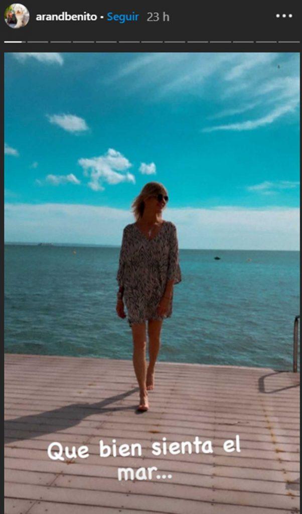 La escapada romántica de Arantxa de Benito y su novio a Mallorca 2