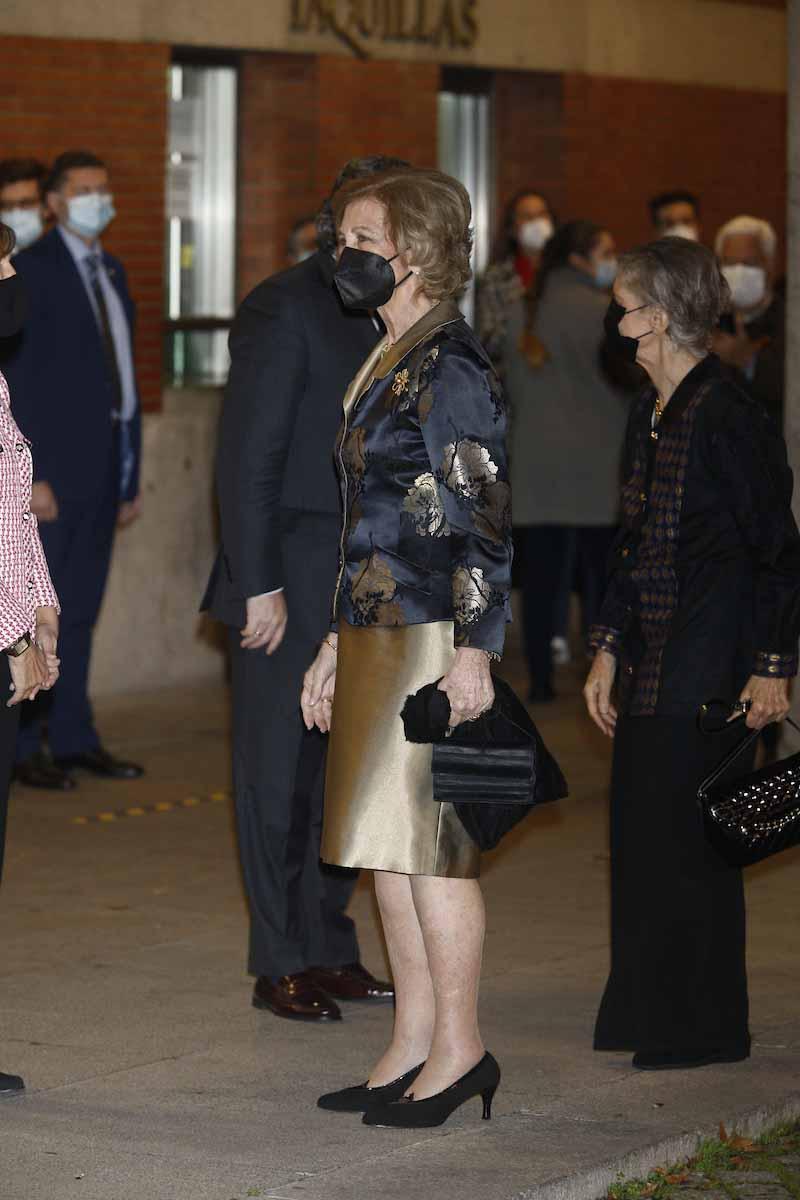 Reina Sofía, noche de concierto tras celebrar su 82 cumpleaños 2