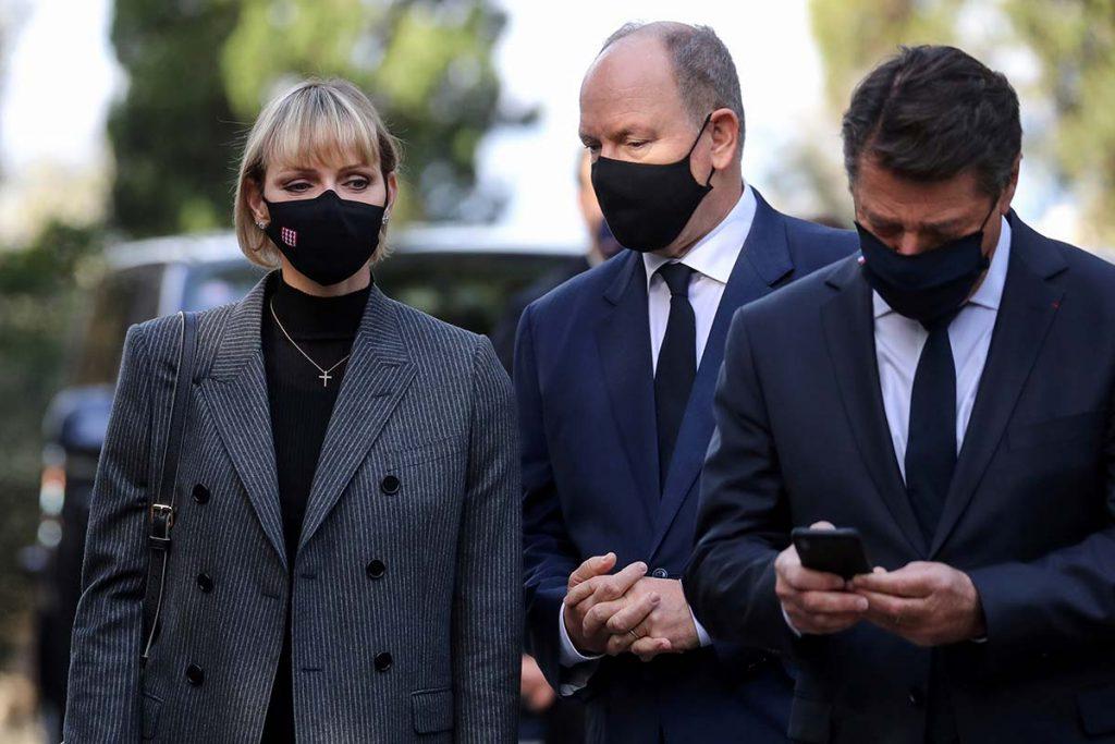 Charlène y Alberto de Monaco recuerdan a las víctimas del atentado de Niza 4