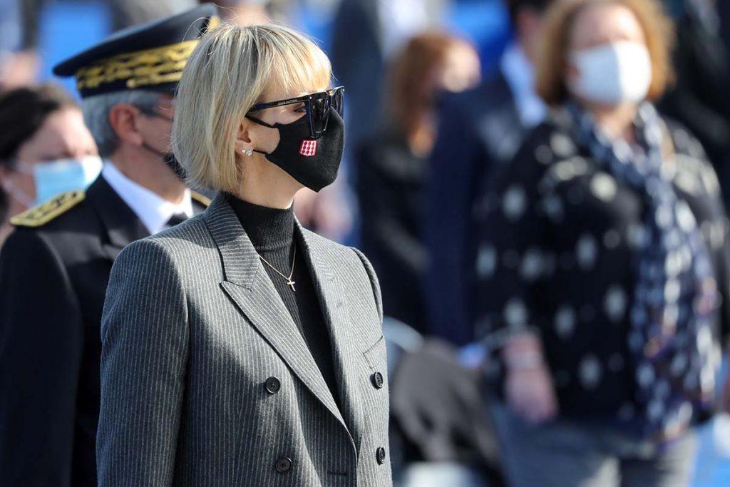 Charlène y Alberto de Monaco recuerdan a las víctimas del atentado de Niza 2