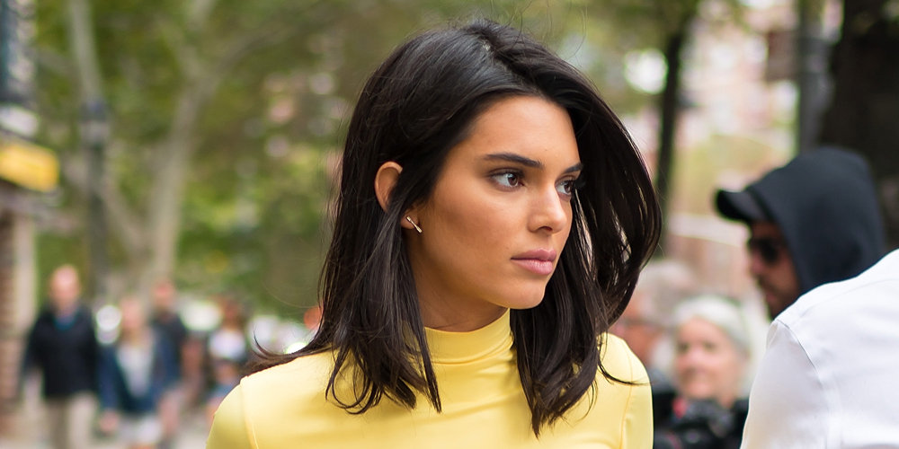kendall jenner biografía vestido amarillo modelo kardashians