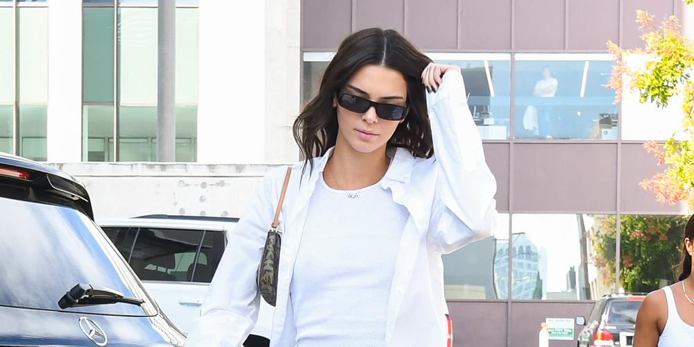 kendall jenner biography chaqueta blanca gafas de sol