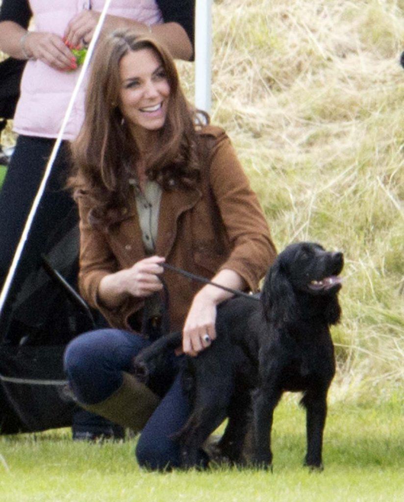 Los duques de Cambridge lloran la muerte de su perro Lupo 2