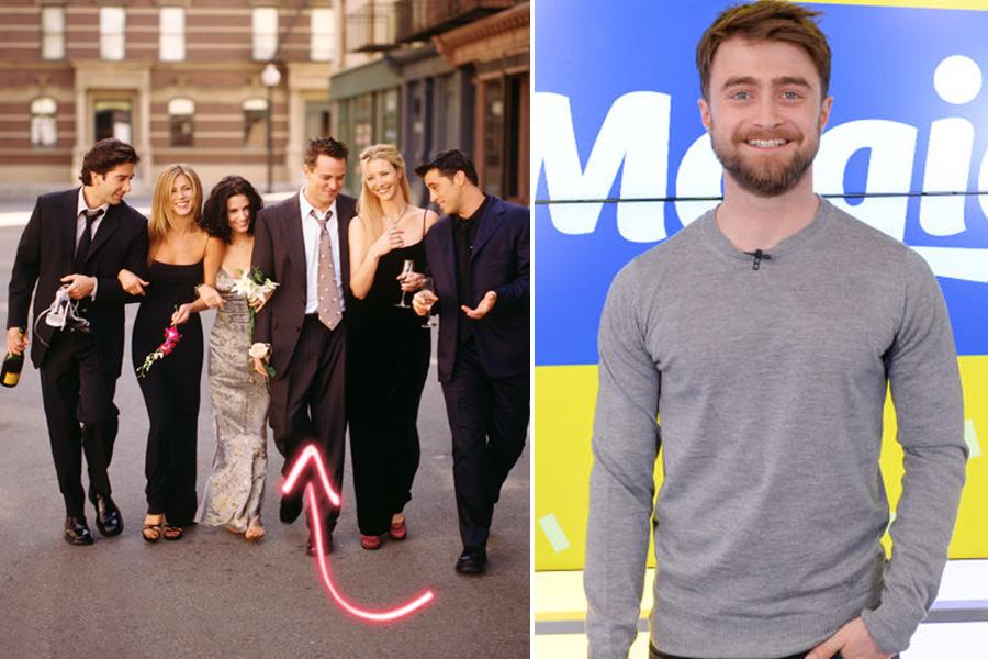 Amigos de Daniel Radcliffe serie remake 2020