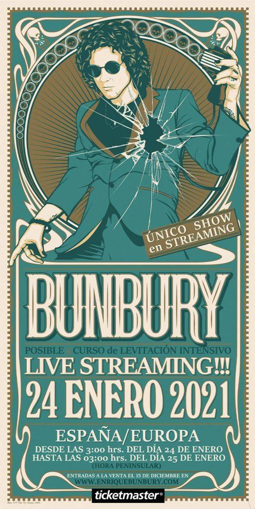 Bunbury TRANSMISIÓN EN VIVO 24 DE ENERO