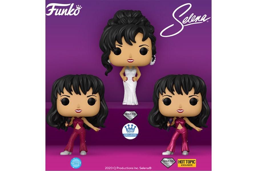 Selena, la serie: el desafío viral, la foto inédita de ella y su Funko - Cosmopolitan Magazine 1