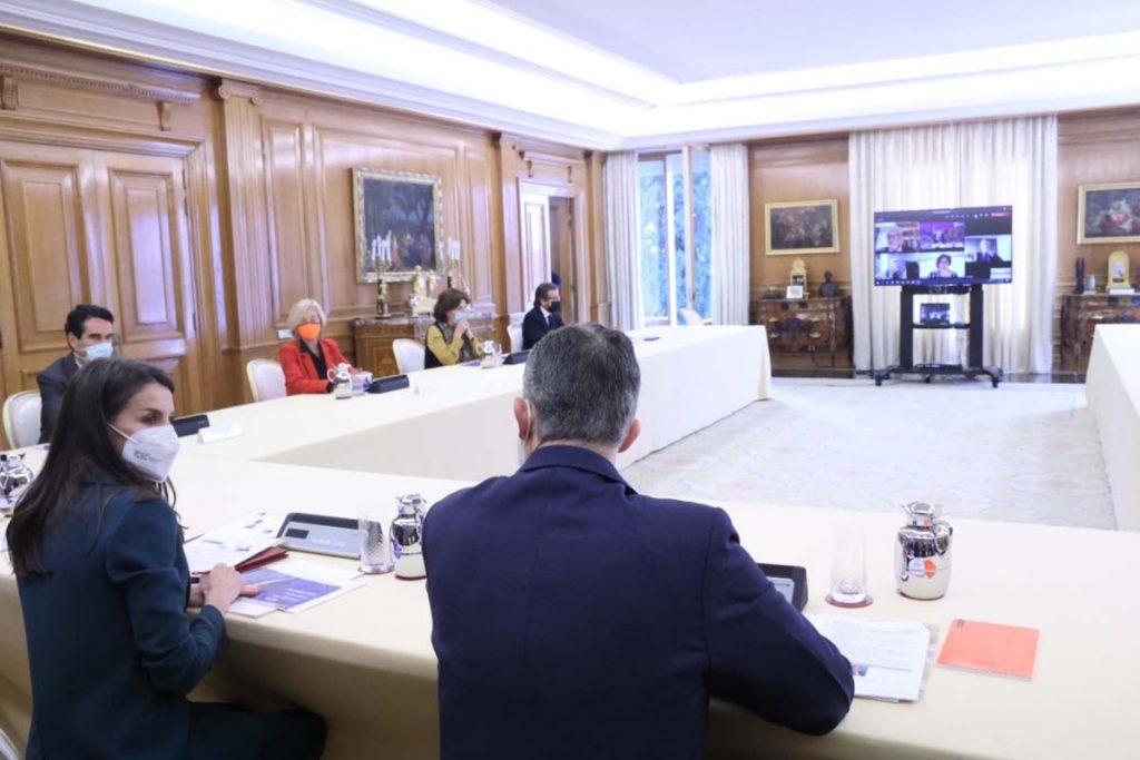 La reina Letizia cierra la semana en palacio asistiendo por sorpresa a un encuentro 2