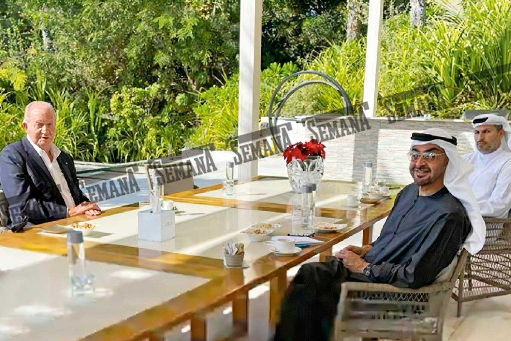 Rey Juan Carlos: las pistas que apuntarían a que ya fue vacunado en Abu Dhabi 2