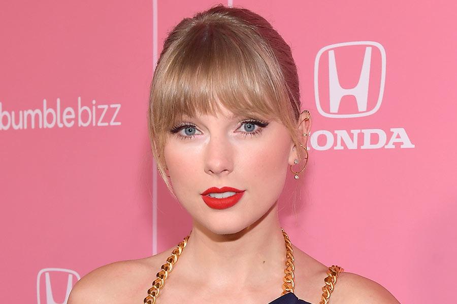 Cortes de flecos de Taylor Swift
