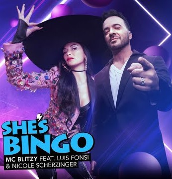 Luis Fonsi y Nicole Scherzinger juntos en 'She's Bingo' 2