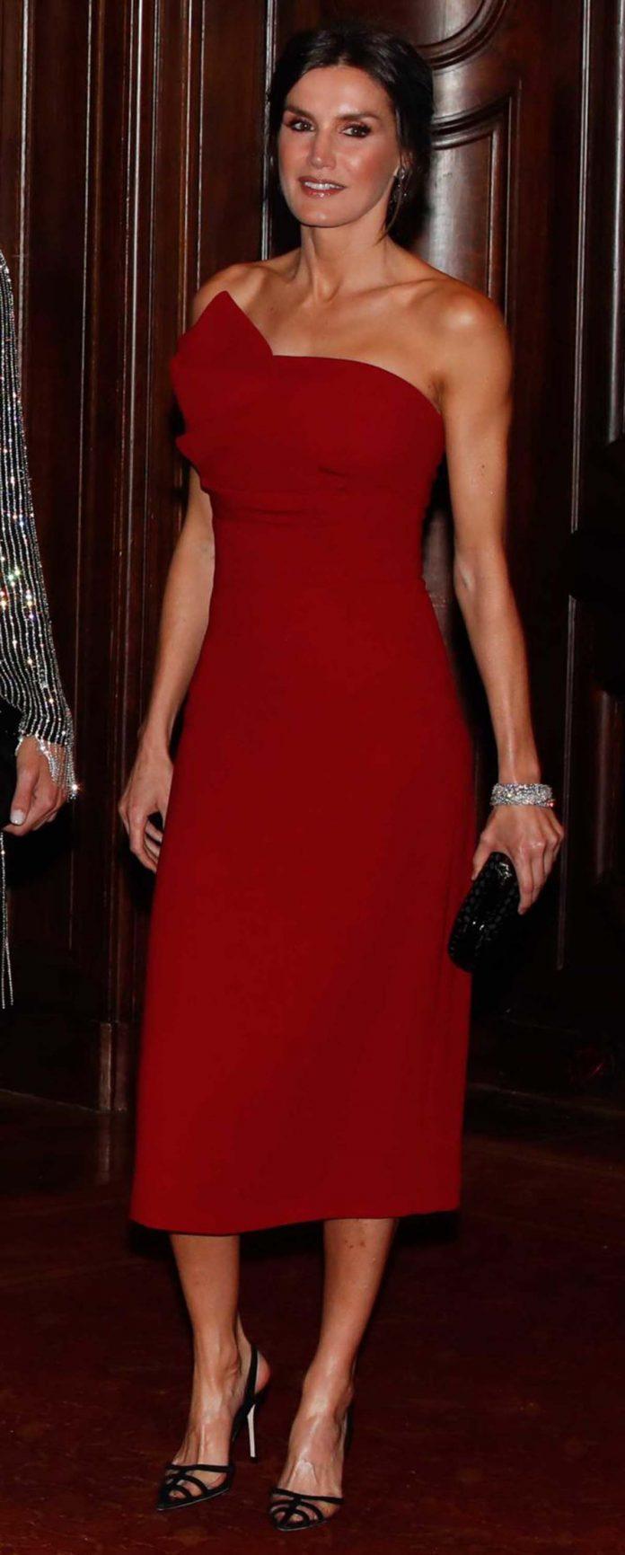 Los looks de la Reina Letizia que más han impactado en el exterior 16