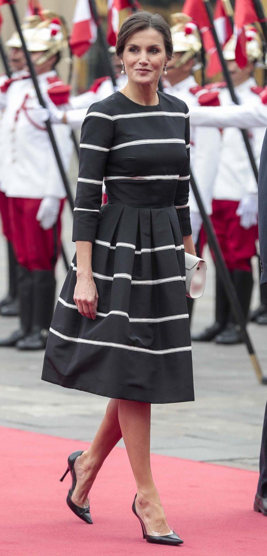 Los looks de la Reina Letizia que más han impactado en el exterior 12