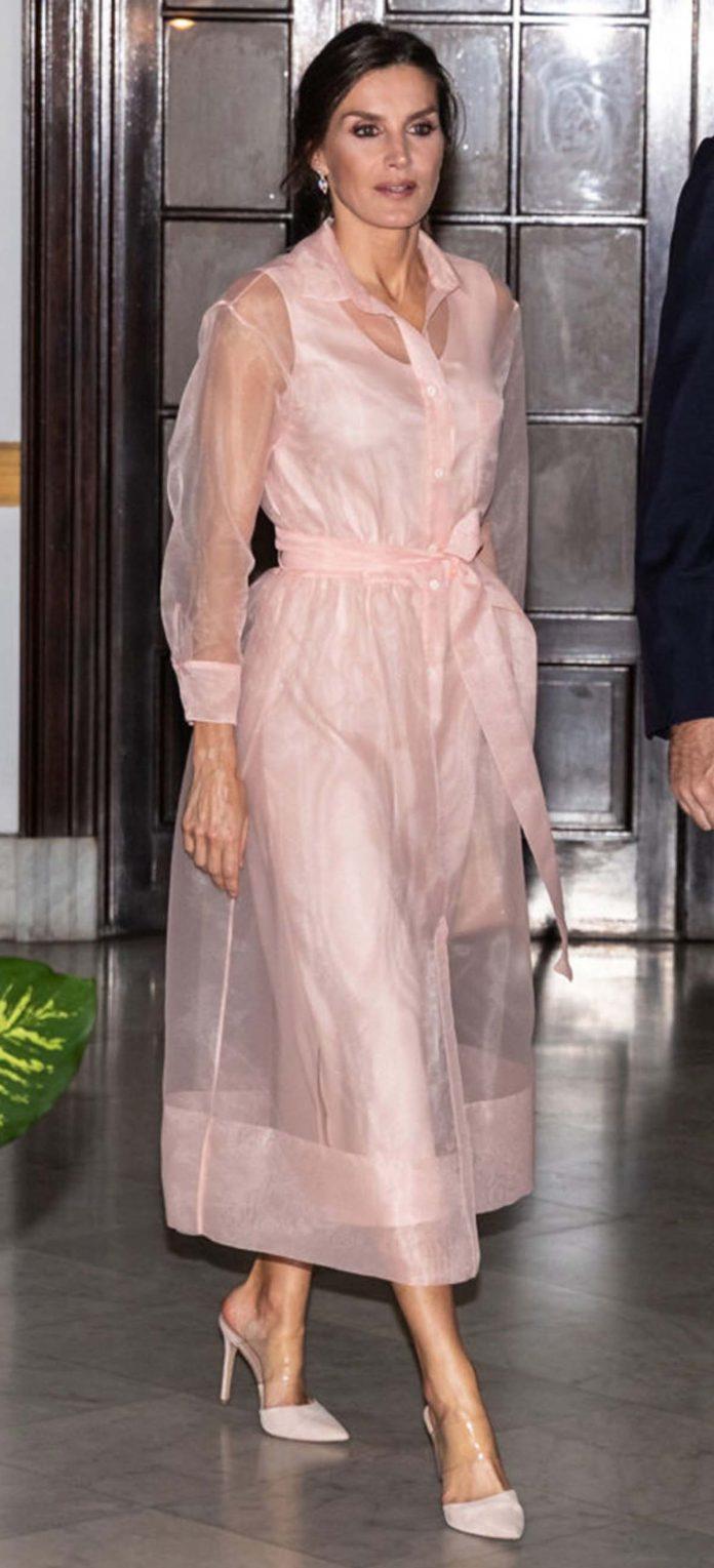 Los looks de la Reina Letizia que más han impactado en el exterior 22