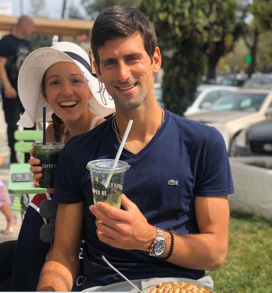 Una modelo serbia, contratada para seducir a Novak Djokovic, grabarlo y romper su matrimonio 2