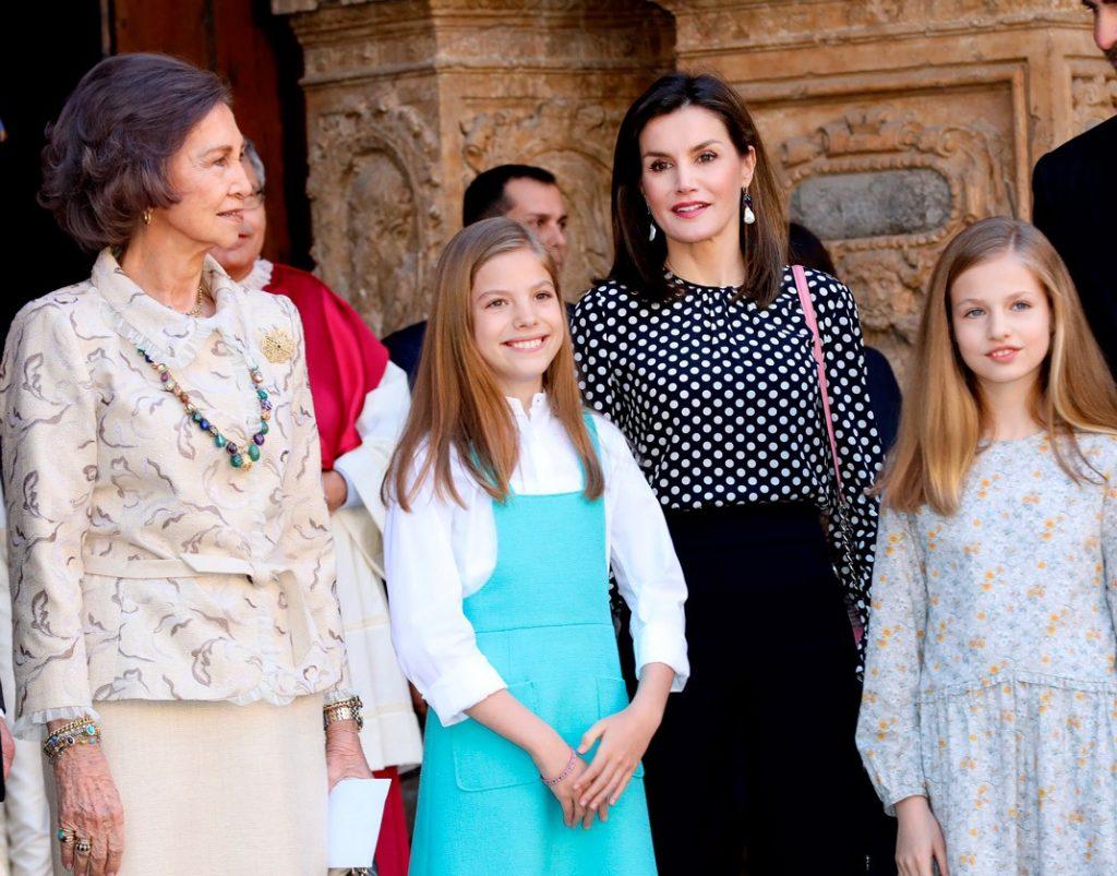 Los Reyes pasan otra Semana Santa sin fiestas privadas y sin misa en Palma 4