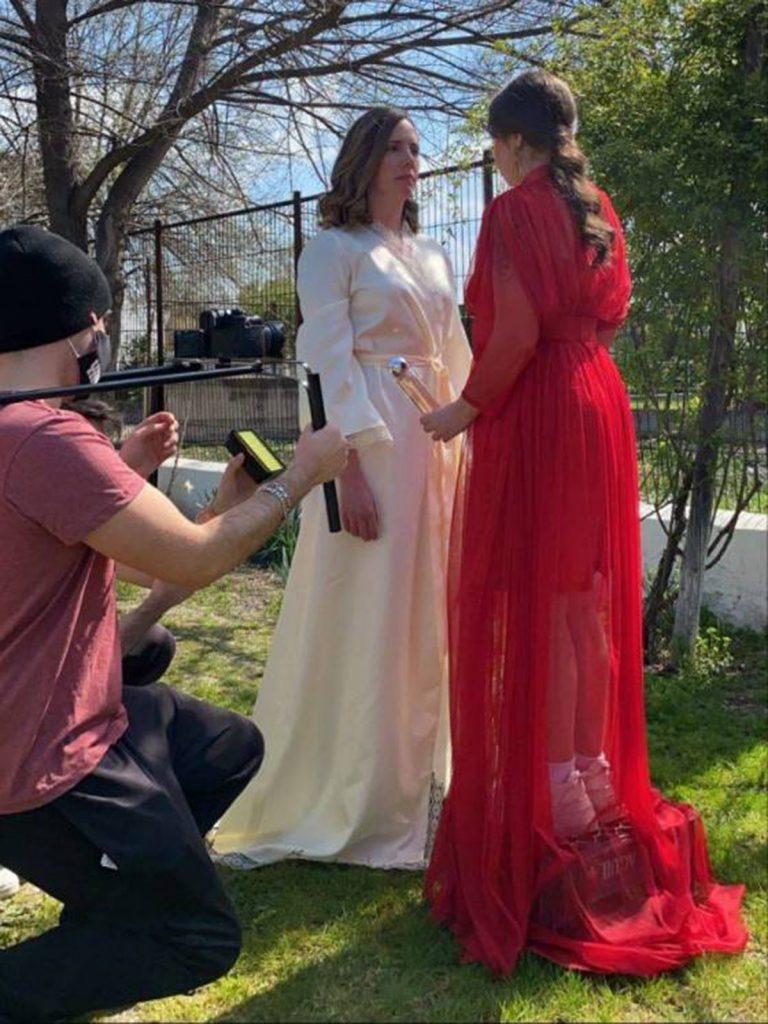 Carla Vigo debuta como actriz con look 'Letizia' en una historia de amor lésbica 2