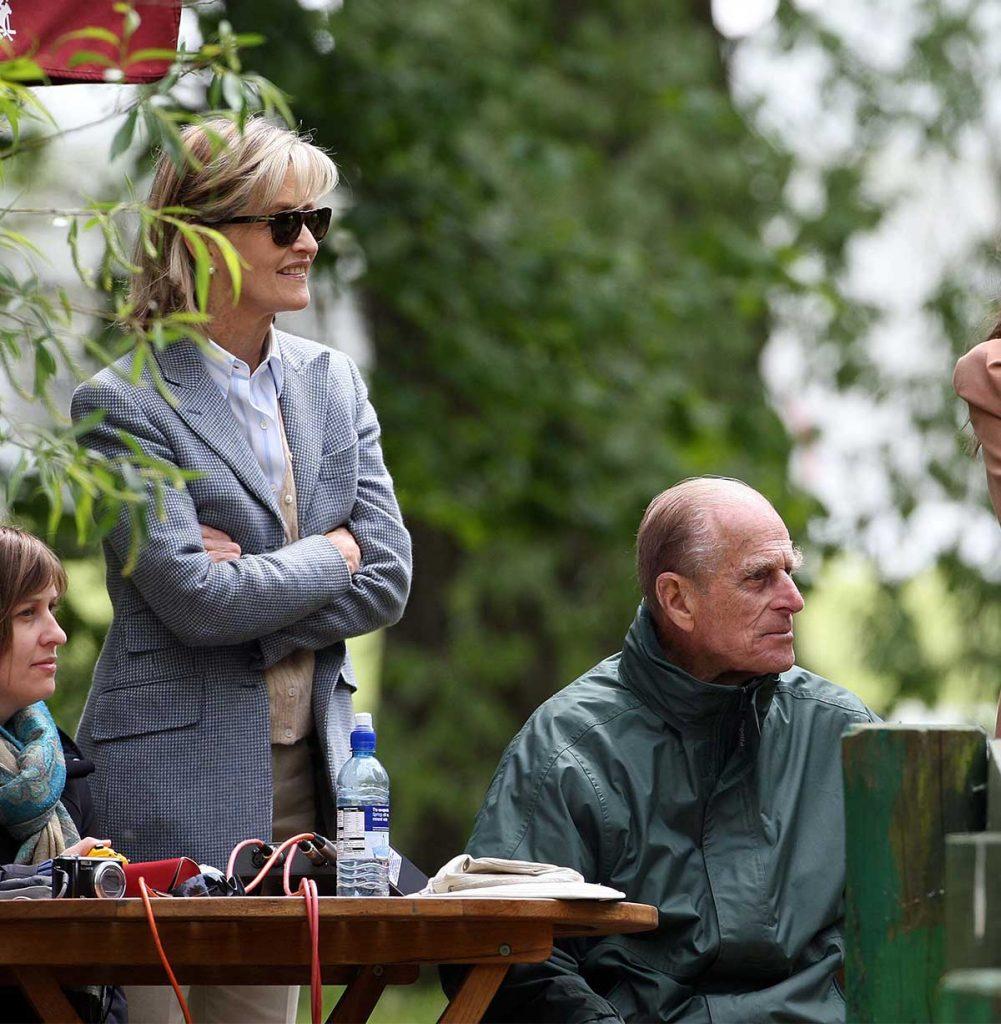 Lady Penny, la amiga especial del duque, entre las 30 elegidas del funeral 2