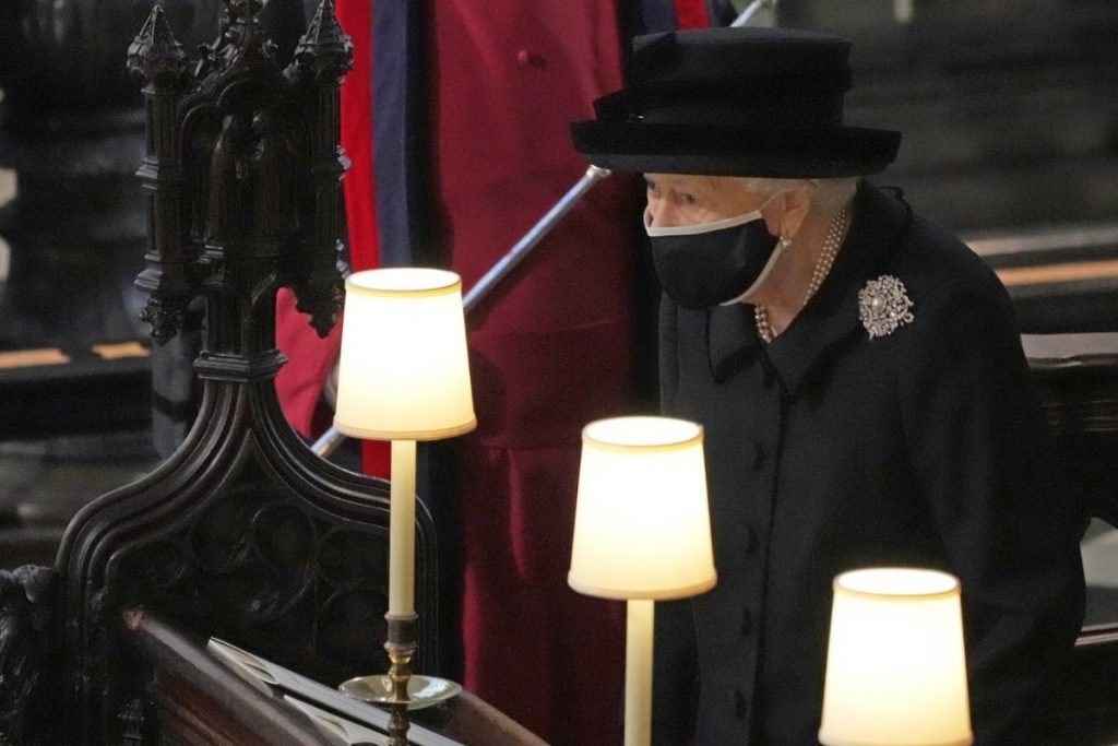 Lo que hizo la reina Isabel II después del funeral de Felipe de Edimburgo 2