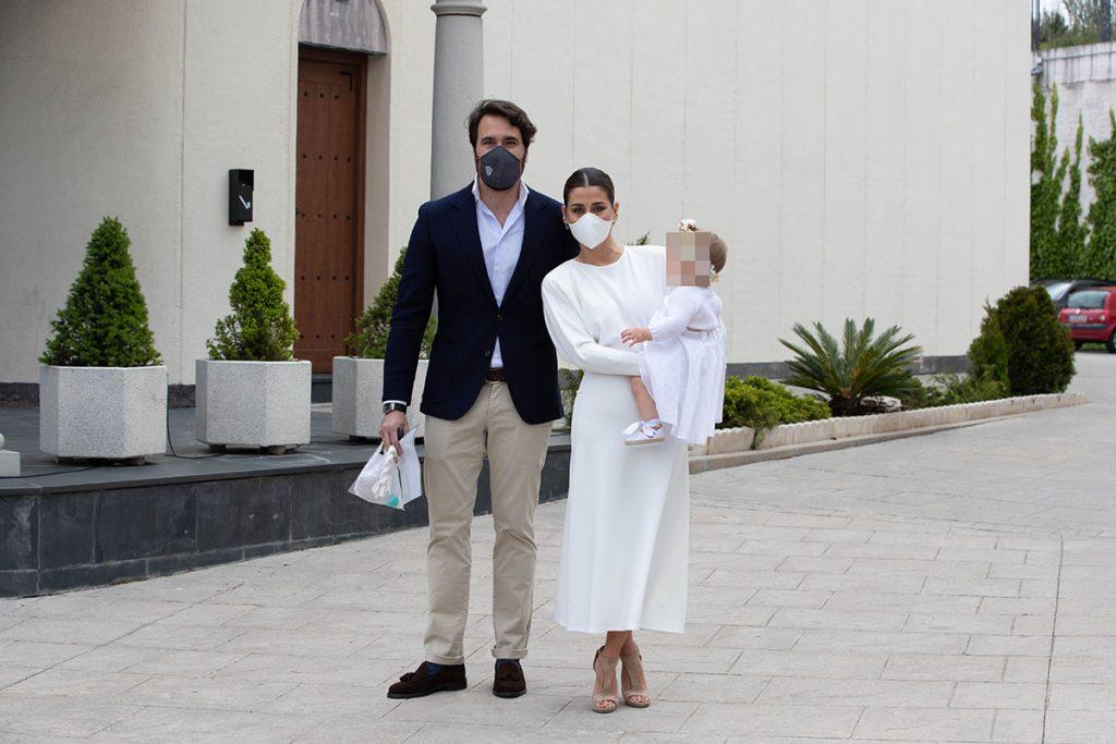 Elena Tablada y Javier Ungría celebran el bautizo de su hija Camila 1