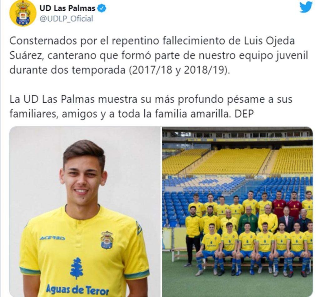 Luis Ojeda Suárez, novio de Lola Ortiz, muere a los 20 años 2