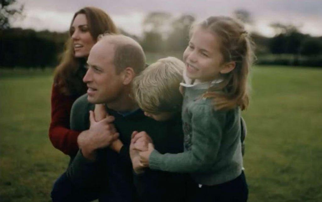 Guillermo y Kate se enamoran del video familiar que copiarán el resto de 'royals' 4