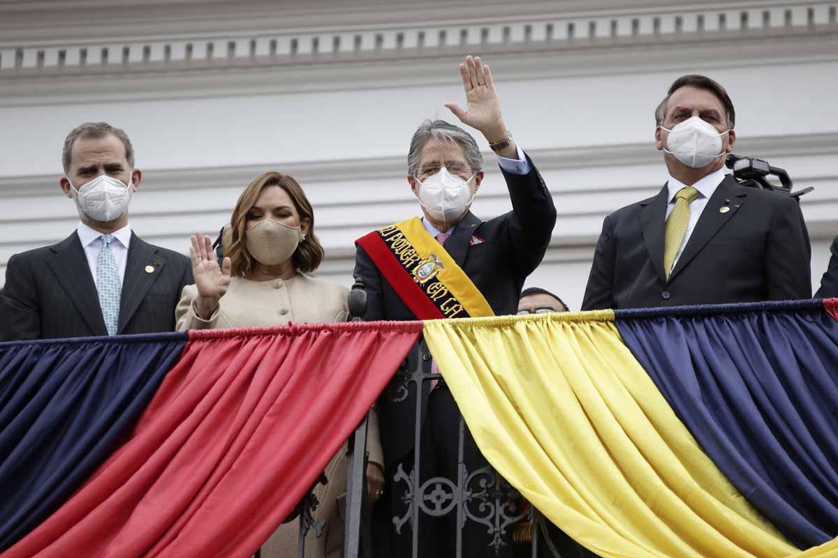 Tras las huellas del rey Felipe en Ecuador: lo que ha hecho en su viaje sin Letizia 2