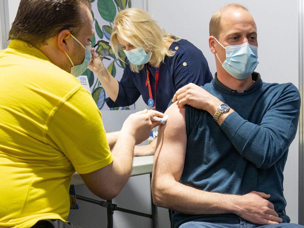 Kate Middleton recibe la primera dosis de la vacuna contra el coronavirus 2