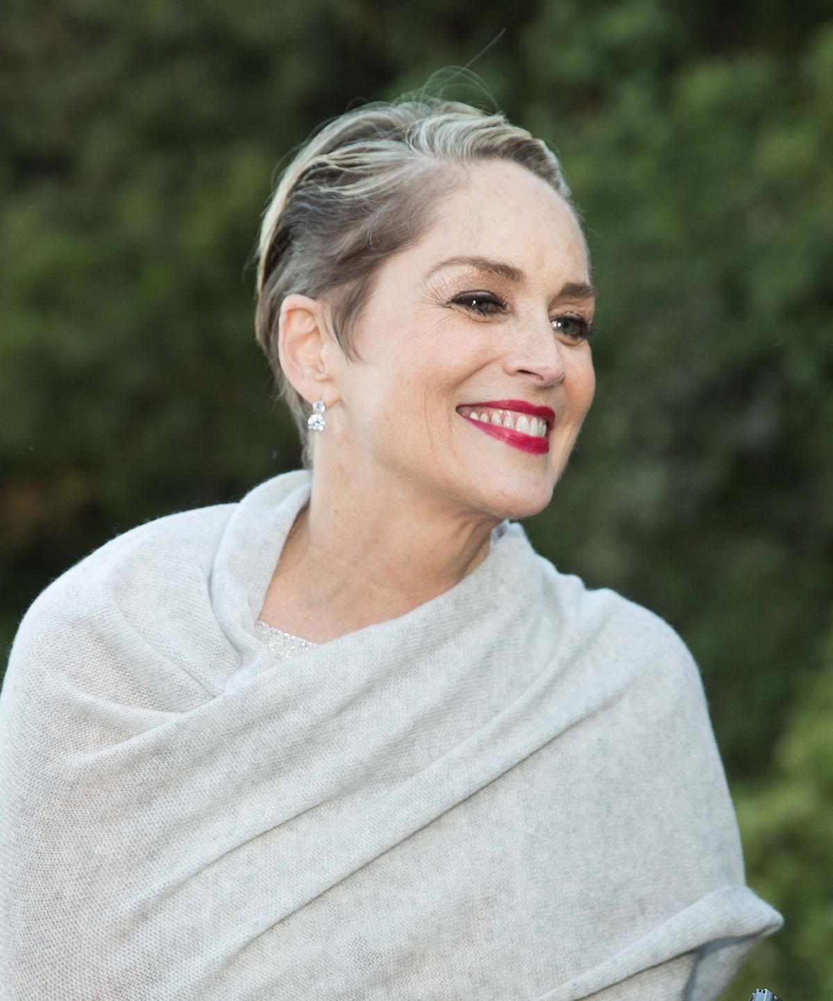 """Sharon Stone habla sobre las secuelas de su accidente cerebrovascular: """"Tuve que volver a aprender a caminar, leer y escribir"""" 2"""