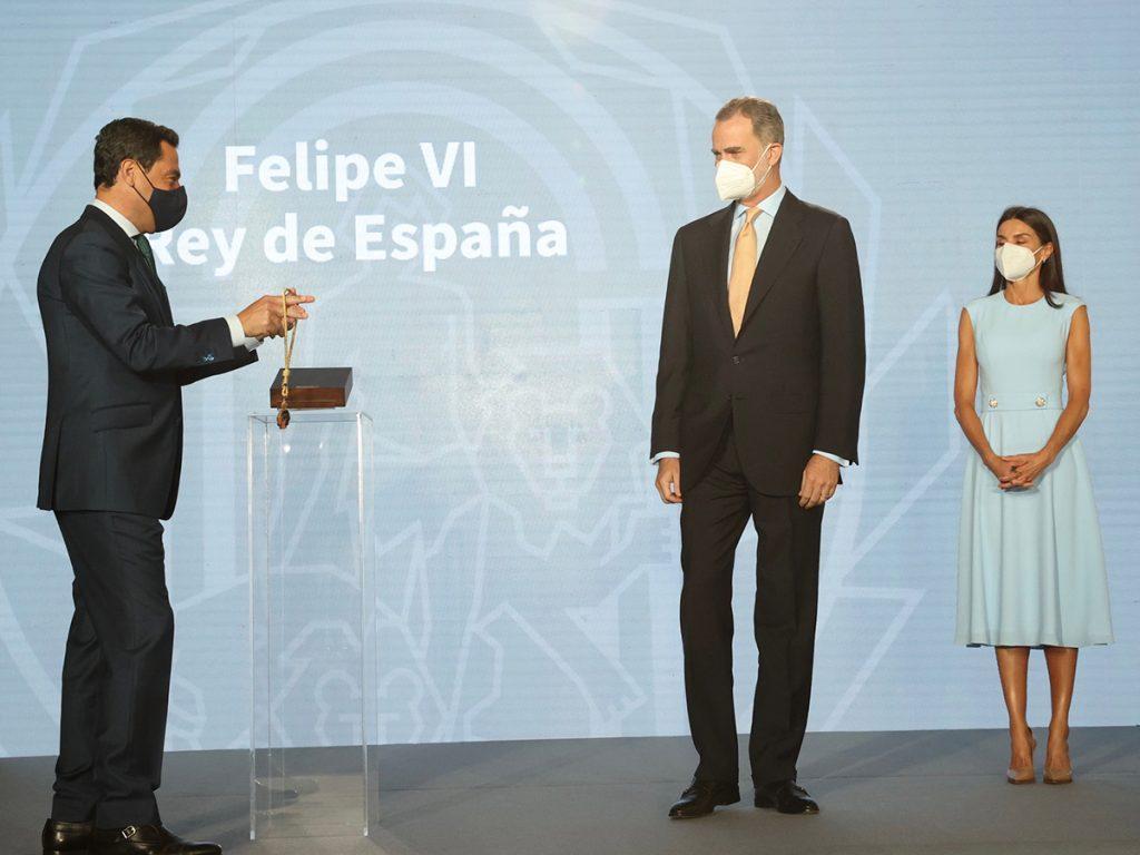 """El orgullo de Letizia por la distinción """"entrañable"""" del rey Felipe en Andalucía 2"""