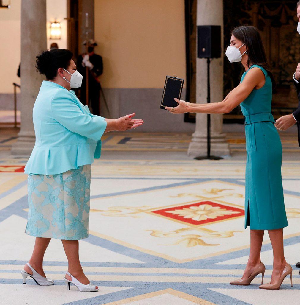 Actrices, cocineros, bailarines, músicos ... Los Reyes entregan las Medallas de Bellas Artes 4