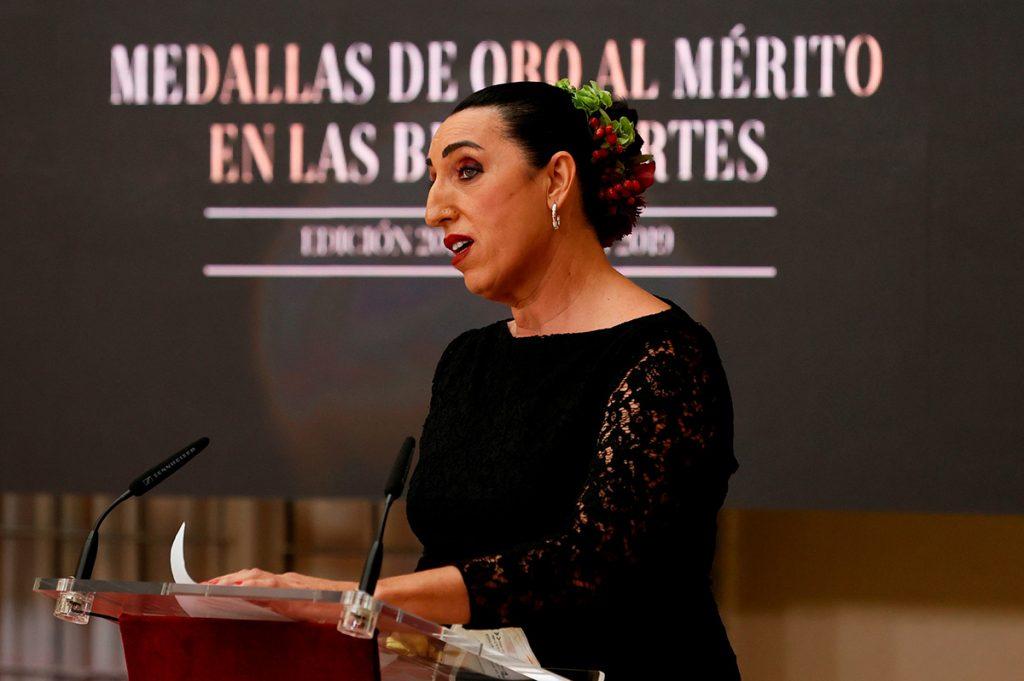 Actrices, cocineros, bailarines, músicos ... Los Reyes entregan las Medallas de Bellas Artes 2