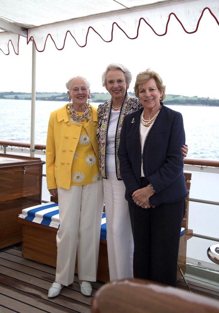 Margarita de Dinamarca comienza sus vacaciones con sus hermanas 2